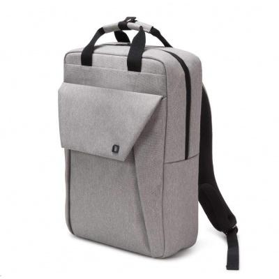 DICOTA Backpack EDGE 13-15.6 light grey