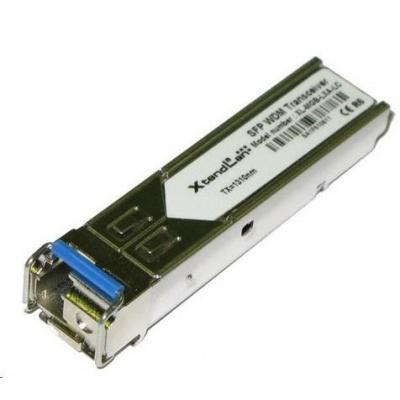 SFP [miniGBIC] modul, 1000Base-LX, LC simplex konektor, WDM TX1550nm/RX1310nm SM, 20km (HP kompatibilní)