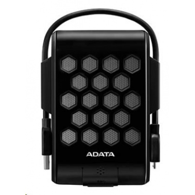 "ADATA Externí HDD 1TB 2,5"" USB 3.1, DashDrive™ Durable HD720, G-sensor, černý, (gumový, vodě/nárazu odolný)"