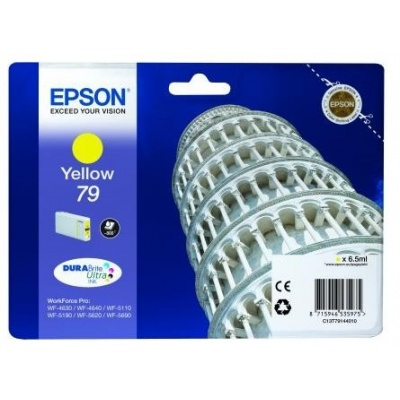 "EPSON Ink bar WF-5xxx Series Ink Cartridge ""Pisa"" 79 Yellow (6,5 ml)"
