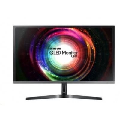 """Samsung MT LCD 28"""" U28H750 - plochý, TN, UHD, 3840x2160, 2xHDMI, Quantum Dot, 16:9, 1 ms"""