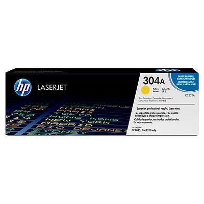 HP 304A Yellow LJ Toner Cart, 2 800 str, CC532A