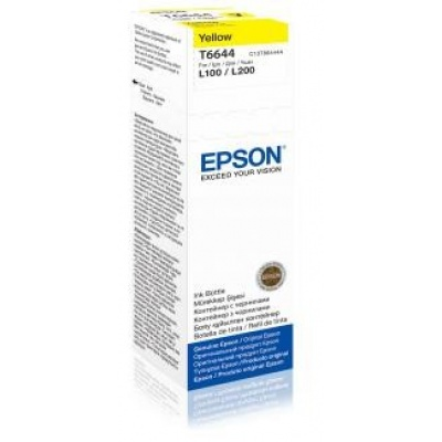 EPSON ink bar T6644 Yellow ink container 70ml pro L100/L200/L550/L1300/L355/365