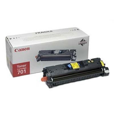 Canon LASER TONER yellow EP-701Y (EP701Y) 4 000 stran*
