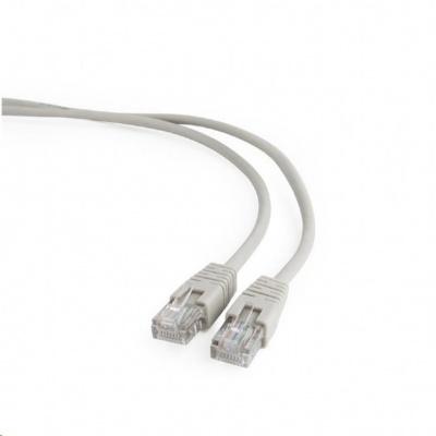 GEMBIRD Kabel UTP Cat5e Patch 10m, šedý