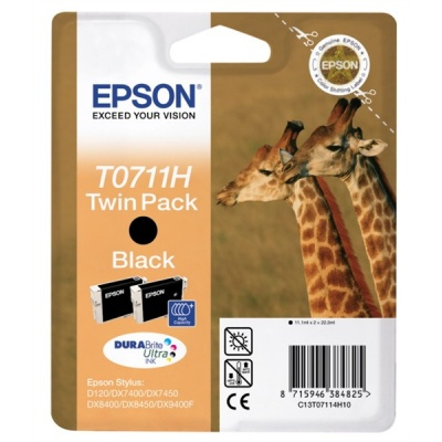 "EPSON ink čer Stylus ""Žirafa"" D120 - high capacity double pack"