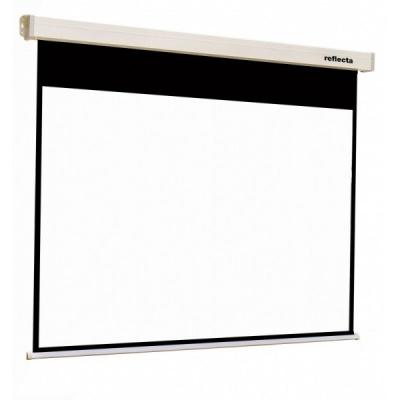Reflecta ROLLO Crystal SOFT Lux (180x180cm, 1:1, 2cm černý okraj) plátno roletové
