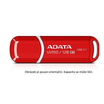 ADATA Flash Disk 16GB UV150, USB 3.1 Dash Drive (R:90 /W:20 MB/s) červená
