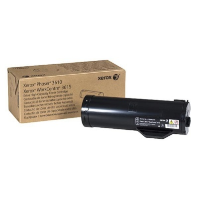 Xerox EXTRA HIGH CAPACITY SOLD TONER CARTRIDGE - Phaser 3610 / WorkCentre 3615 (25 300str; black)