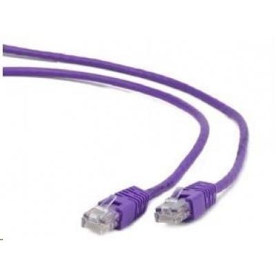 GEMBIRD Patch kabel CAT6 stíněný FTP 1m, fialový