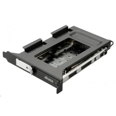 """AKASA HDD box Lokstor M23, 2.5"""" SATA HDD/SSD do interní PCI pozice, černá"""