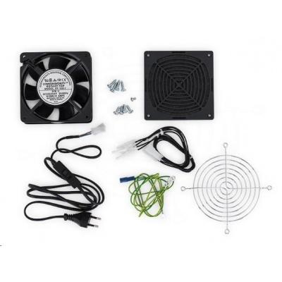 TRITON Ventilátor + sada pro montáž do rozvaděče RUA nebo RBA, 230V, 50Hz, 0,09 A, 15W, 160m3/h