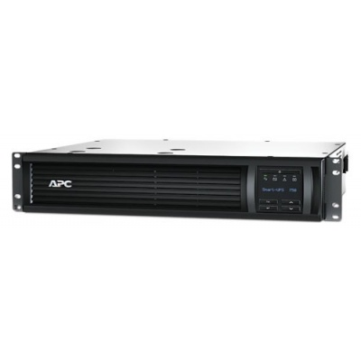 APC Smart-UPS 750VA LCD RM 2U 230V (500W) with Network Card