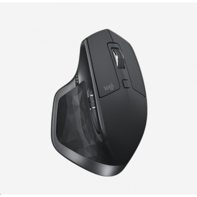 Logitech myš MX Master 2S, Wireless Mouse, 2.4GHZ/BT, EMEA, Graphite
