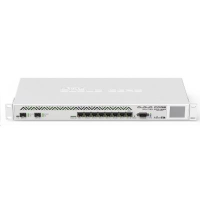 MikroTik CloudCoreRouter CCR1036-8G-2S+EM rev.2, 1200MHz CPU, 8GB RAM, 8x LAN, 2x SFP+, 1x microUSB, vč. L6 licence