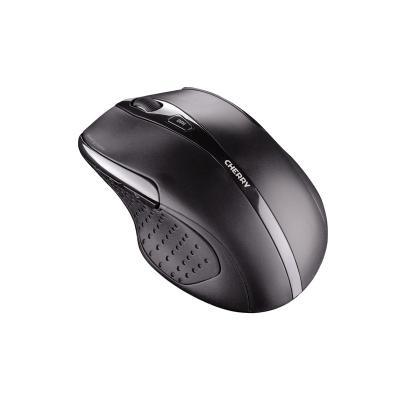 CHERRY myš MW 3000, bezdrátová, ergonomická, USB, černá
