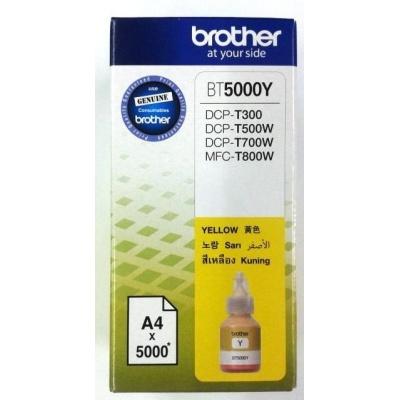 BROTHER INK BT-5000Y yellow T300, T310, T500W, T510W, T700W, T710W, T910 cca 5000