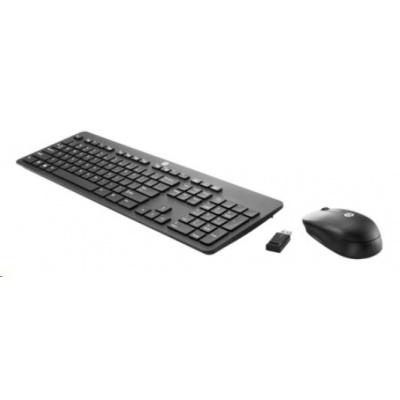 HP Slim Wireless KB and Mouse česká