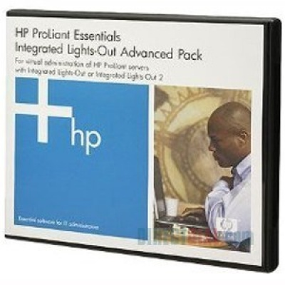 HP SW ILO Advanced Pack for BladeSystem, No Media, Tracking License, 1y 24x7 Techn. Supp&Updates