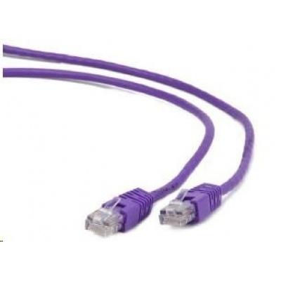 GEMBIRD Patch kabel CAT6 stíněný FTP 0,25m, fialový