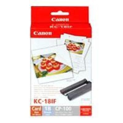 Canon HC-18IF sada barevného inkoustu/stítků plné velikosti