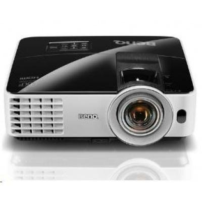 BENQ PRJ MX631ST DLP; XGA; 3200 ANSI , 13000:1,1.2X, D-sub,HDMI,USB,S-Video vstup,Reproduktor 10W x 1