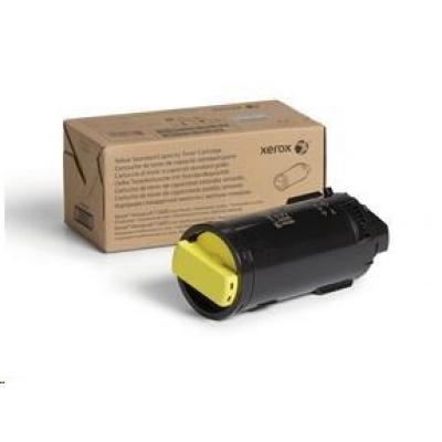 Xerox Yellow Standard Capacity Toner Cartridge pro The VersaLink C600/C605 (6 000 PAGES)