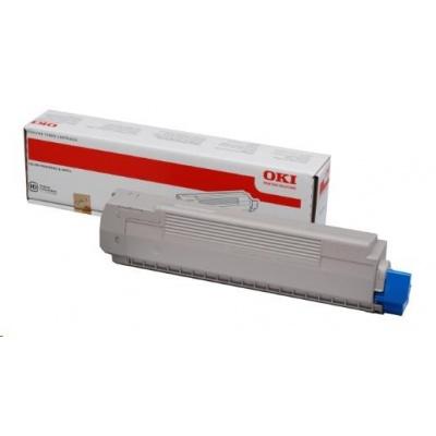 OKI toner do MC851/861<>br>  <b>Kapacita:</b>7 300 str. při 5% krytí.