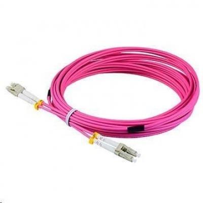 Duplexní patch kabel MM 50/125, OM4, LC-LC, LS0H, 3m