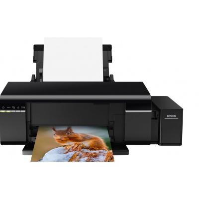 EPSON tiskárna ink EcoTank L805, A4, 38ppm, USB, Wi-Fi, Foto tiskárna,  6ink, 3 roky záruka po registraci