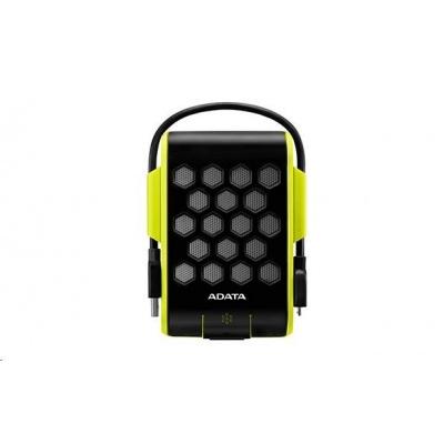 """ADATA Externí HDD 1TB 2,5"""" USB 3.1, DashDrive™ Durable HD720, G-sensor, zelený, (gumový, vodě/nárazu odolný)"""