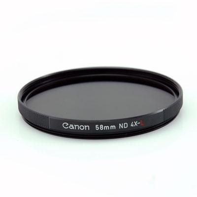 Canon filtr 58mm ND4-L Neutral density