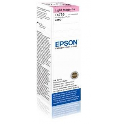 EPSON ink bar T6736 Light Magenta ink container 70ml pro L800/L1800