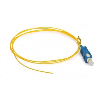 Pigtail SM 9/125, OS2, konektor SC, LS0H, 1m