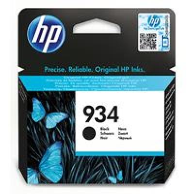 HP 934 Black Ink Cartridge, C2P19AE