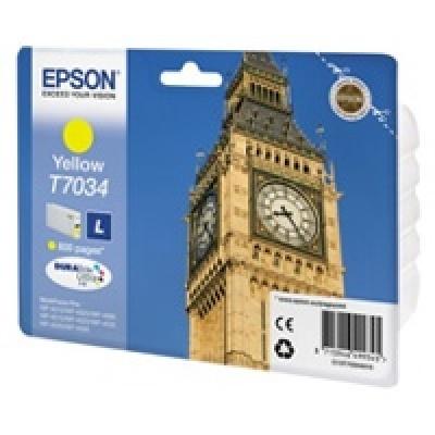 EPSON Ink bar WorkForce-4000/4500 - Yellow L - 800str. (9,6 ml)