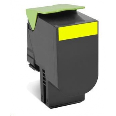 LEXMARK Yellow toner 802SY pro CX310/410/510 z programu Lexmark Return (2 000 stran)