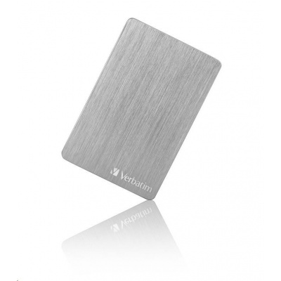 "VERBATIM HDD 2.5"" 1TB Store 'n' Go ALU Slim Portable Hard Drive USB 3.2, Silver"