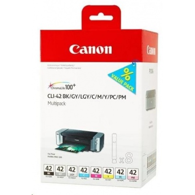 Canon BJ CARTRIDGE CLI-42 8inks Multi Pack
