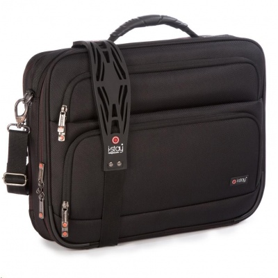 """i-stay 15.6""""& up to 12"""" Clamshell laptop/tablet bag  Black"""