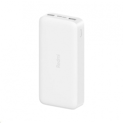 Xiaomi 20000 mAh Redmi 18W Fast Charge Power Bank (White)