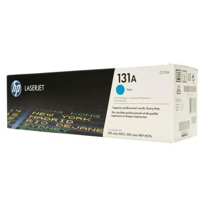 HP 131A Cyan LJ Toner Cart, 1 800 str, CF211A