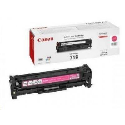 Canon LASER TONER magenta CRG-718M (CRG718M) 2 900 stran*