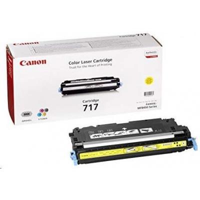 Canon LASER TONER yellow CRG-717Y (CRG717Y) 4 000 stran*