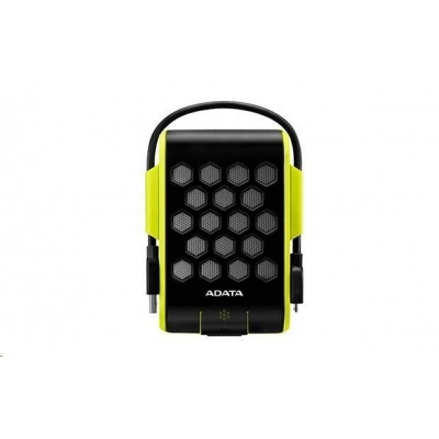 """ADATA  Externí HDD 2TB 2,5"""" USB 3.1, DashDrive™ Durable HD720, G-sensor, zelený, (gumový, vodě/nárazu odolný)"""