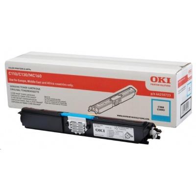 Oki Toner Cyan do C110/C130n/MC160 (2.5K)