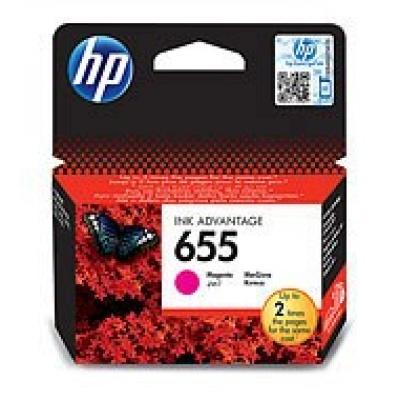 HP 655 Magenta Ink Cart, CZ111AE