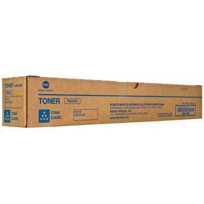 Minolta Toner TN-221C, azurový do bizhub C227, C287 (21k)