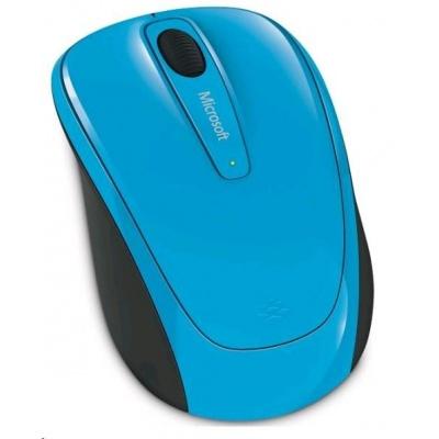 Microsoft myš L2 Wireless Mobile Mouse 3500 Mac/Win USB Cyan Blue