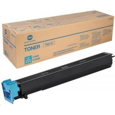 Minolta Toner TN-611C, azurový do bizhub C451, C550, C650 (27k)